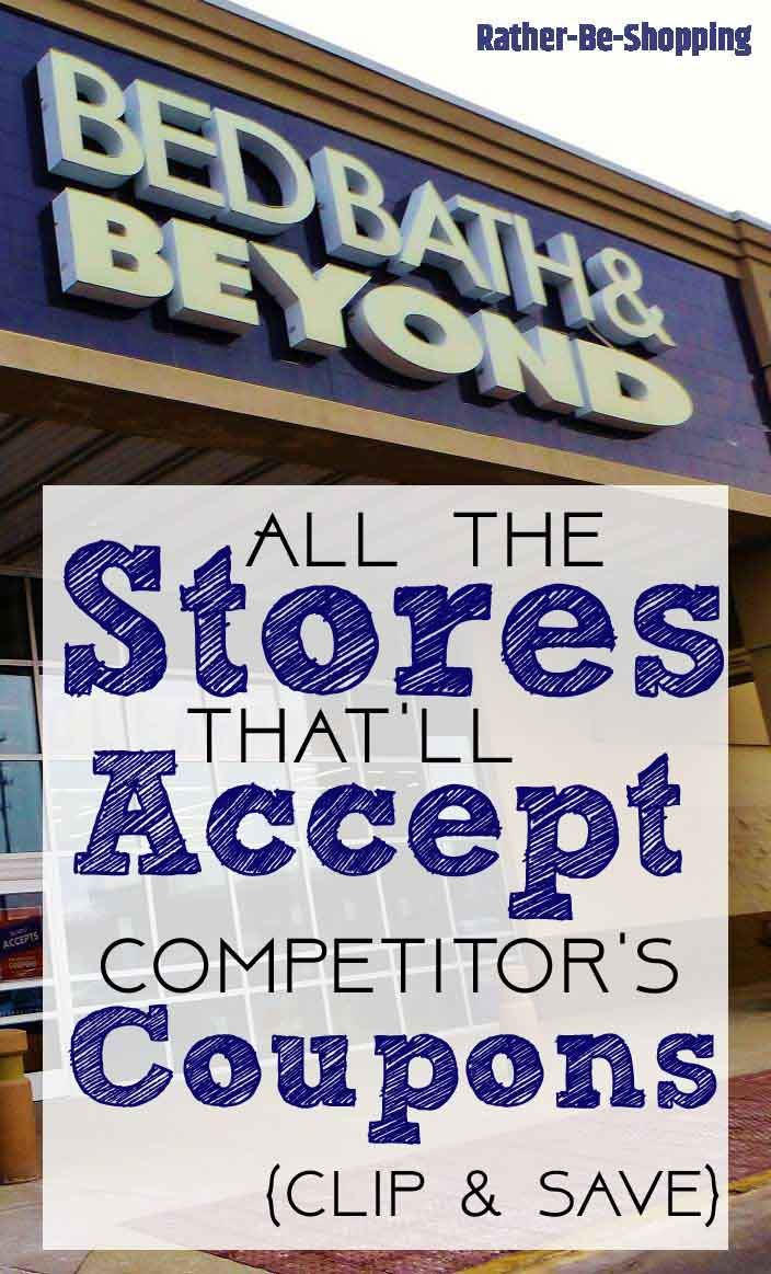 The 12 Stores That Happily Accept Competitor Coupons