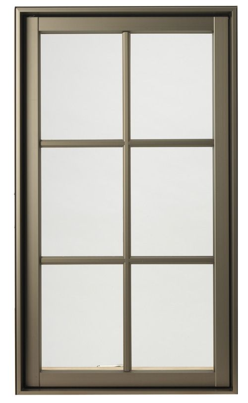 Hurd H3 Window In Anodized Bronze Color Hurd Windows Windows Doors Windows