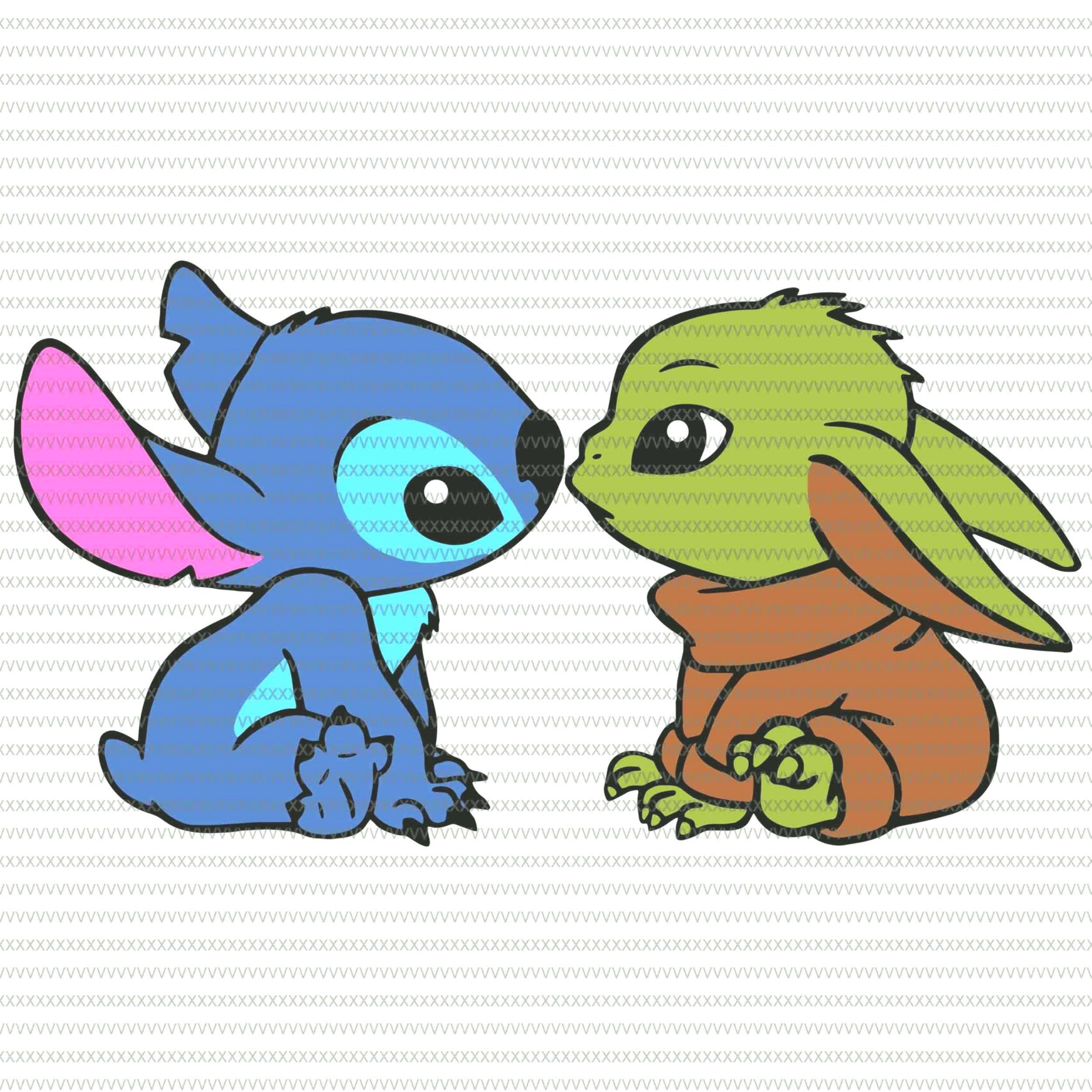 Baby Yoda And Stitch Pngbaby Yoda Pngbaby Yoda The Mandalorian Star Warsbaby Yoda The Mand Cute Cartoon Drawings Cute Cartoon Wallpapers Baby Disney Characters