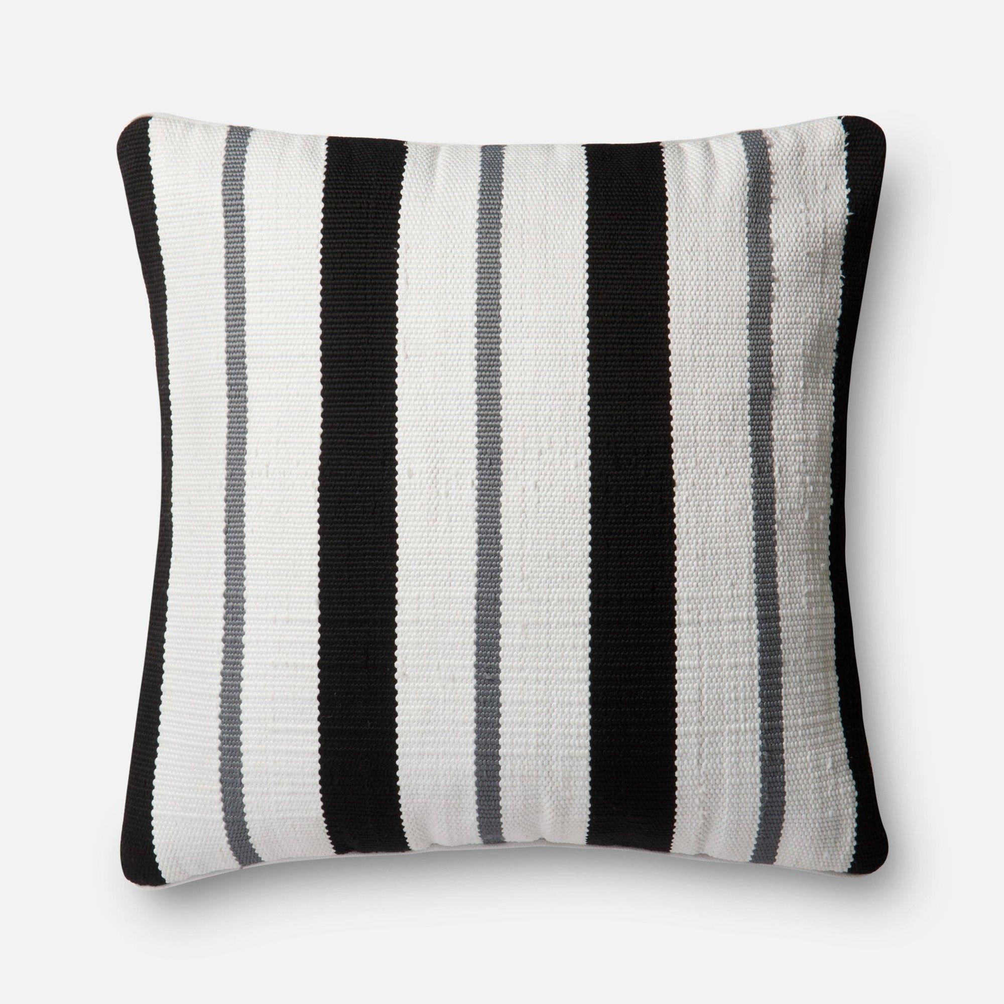 IndoorOutdoor Throw Pillow | Modern