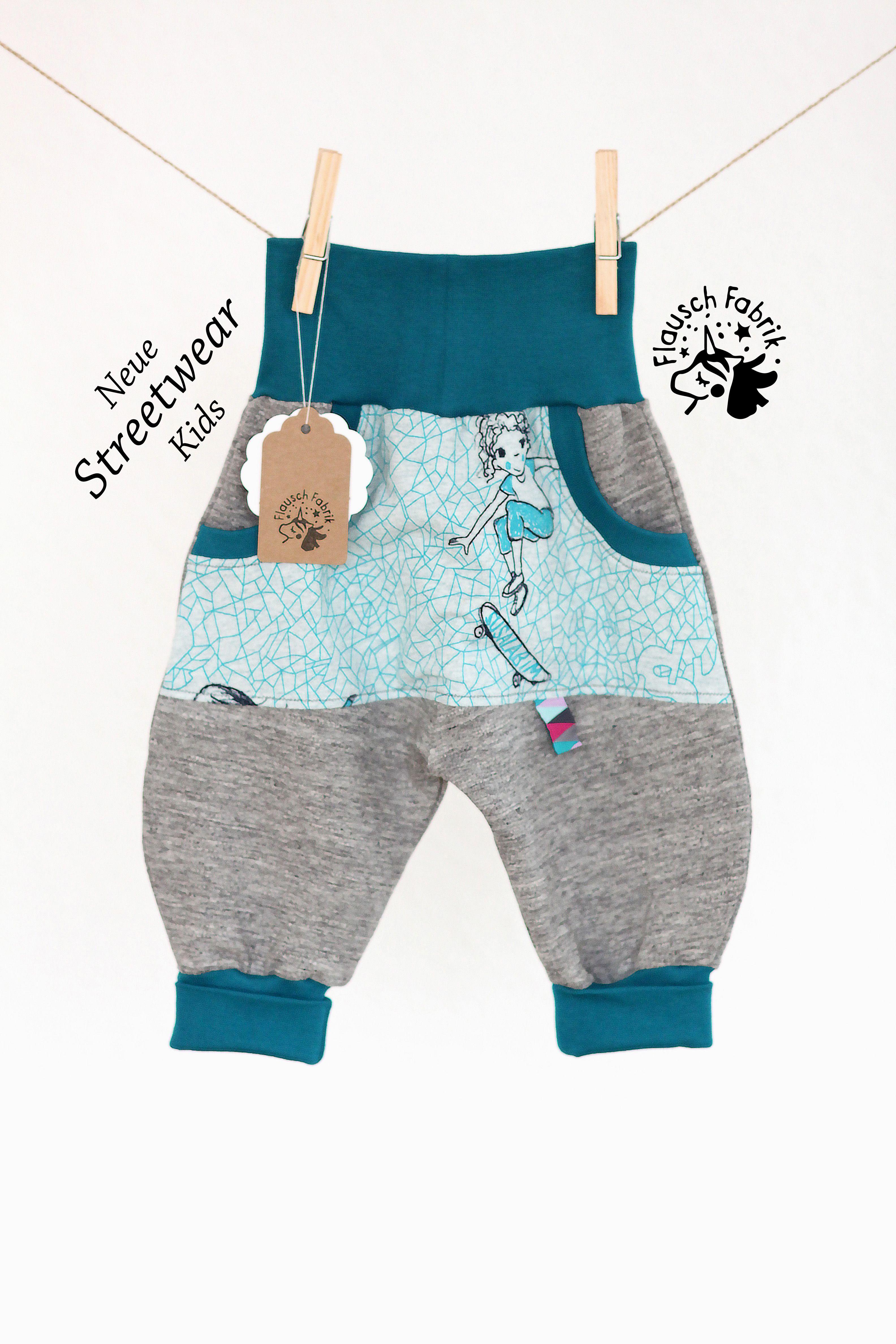 Grosse 68 Baby Streetware Warme Sweathose Skatergirl Mit Taschen Babykleidung Madchen Streetwear Und Babykleidung