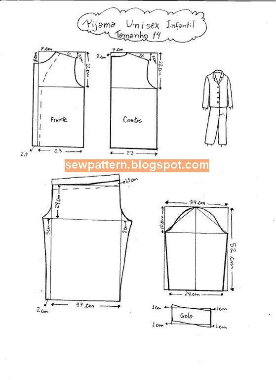 Pin by Rocio Bobadilla on Patrones de costura | Pinterest | Sew ...