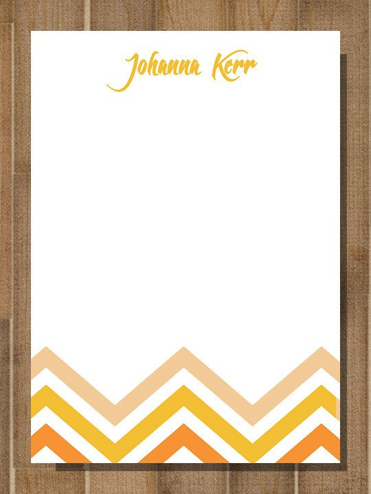 stationary from the desk of note office memo by bluemoondesigns1
