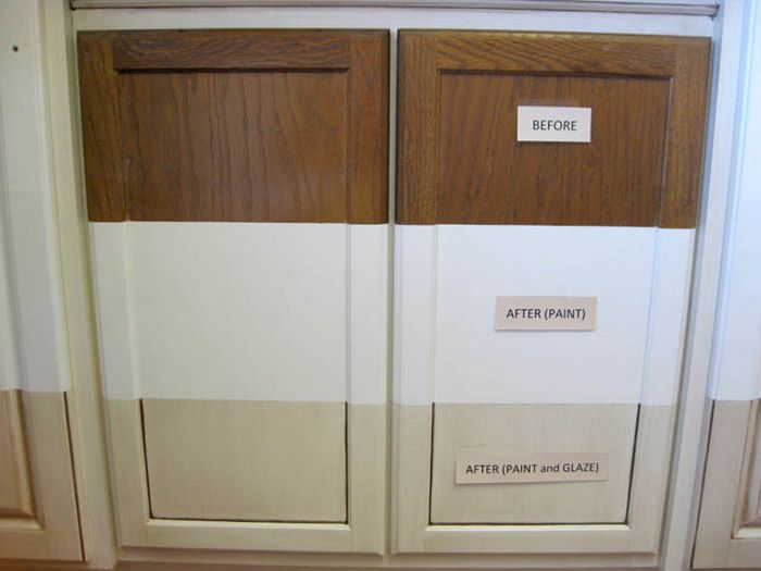 Glazing Cabinets Before And After | AQCP.COM | Glazing ...