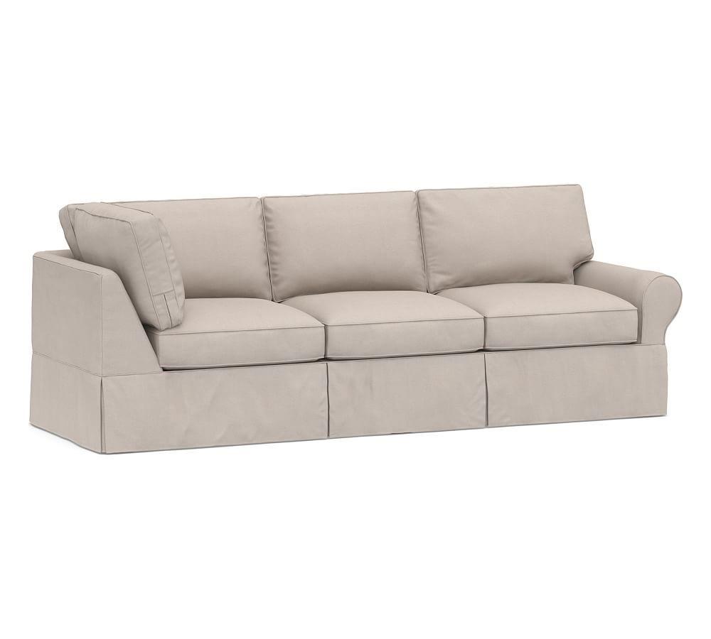 Pb Basic Right Arm Return Sofa Sectional Sofas Living Room