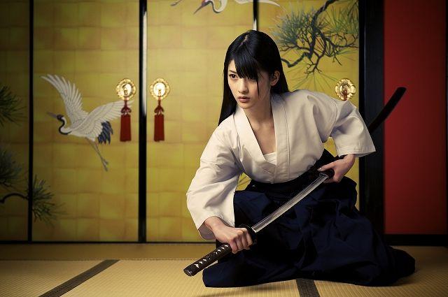 刀女の子 / Samurai girl