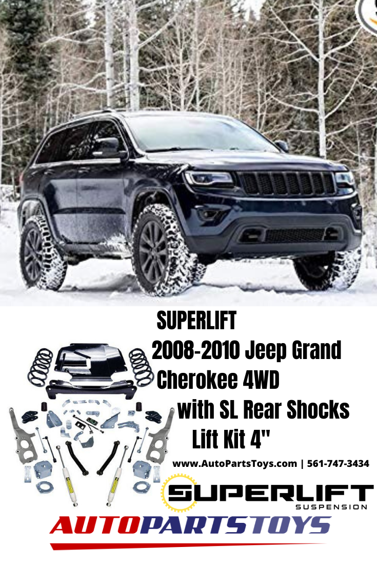 SUPERLIFT 20082010 Jeep Grand Cherokee 4WD with SL Rear