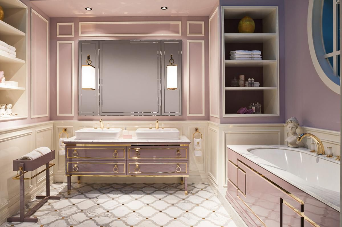 Shades of pink, Lutetia collection by Oasis.