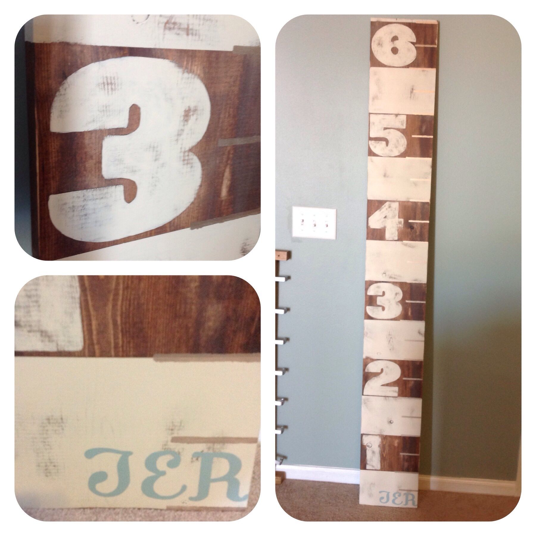 Custom antiqued growth chart woversized numbers and initials 16 custom antiqued growth chart woversized numbers and initials 16 geenschuldenfo Choice Image