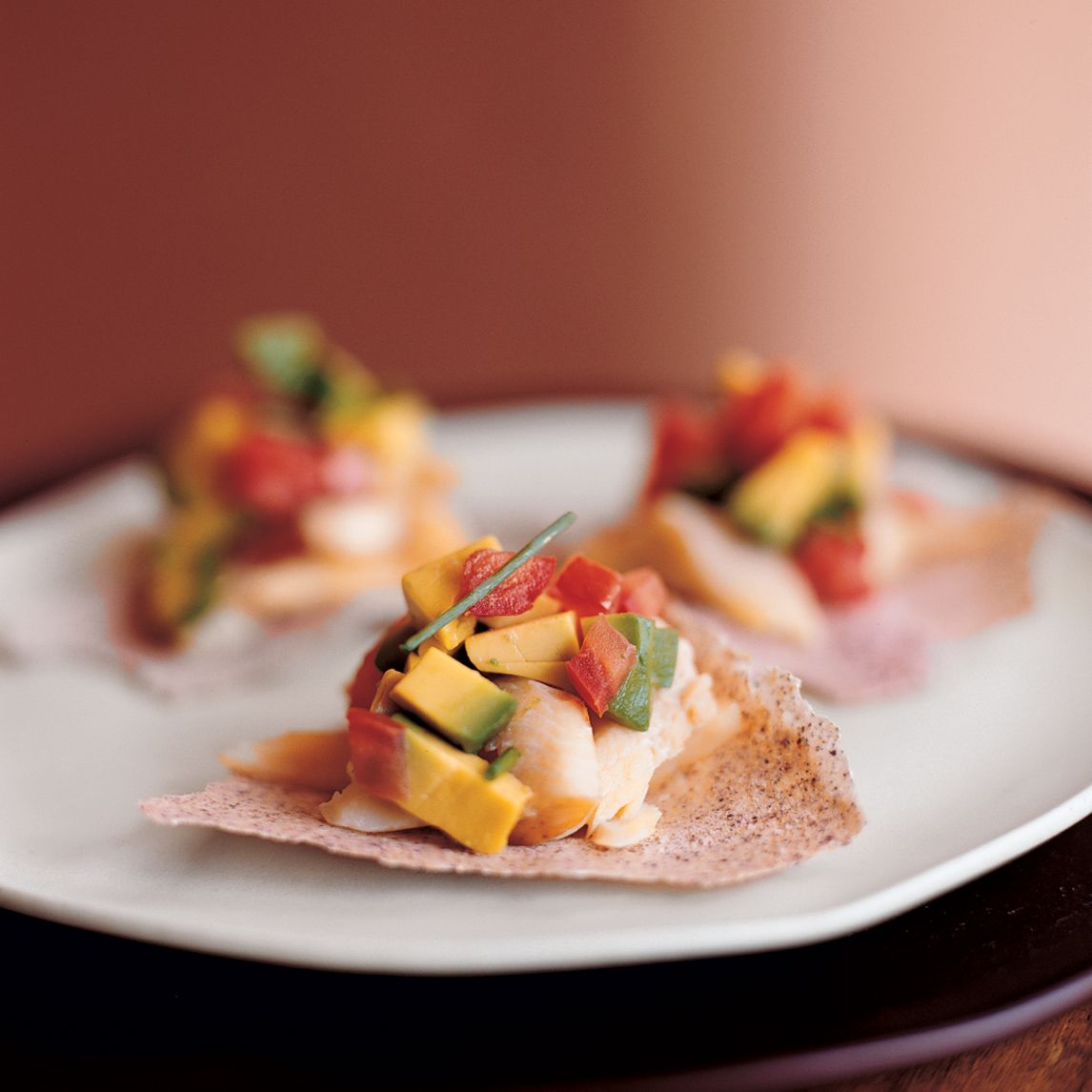 Smoked Trout Tostadas Recipe Tostadas Smoked Trout Stuffed Peppers