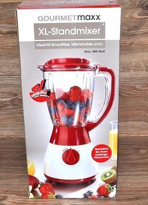 Gourmet Maxx Standmixer Xl Mixer Smoothie Maker Kuchenmaschine