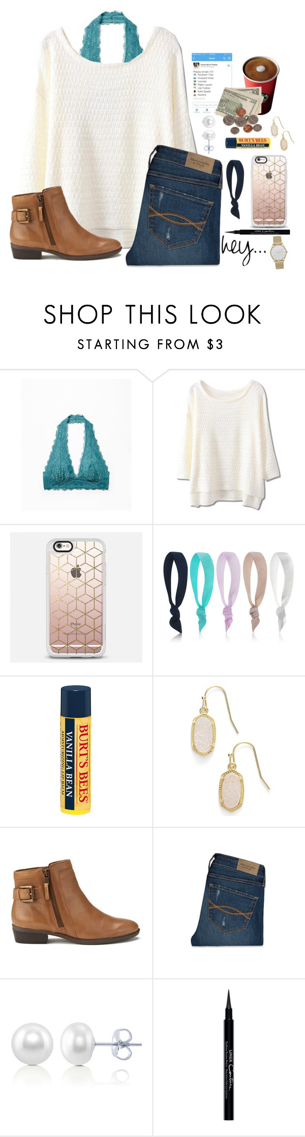 """""""Don't focus on everyone else's lives, you have your own to keep track of"""" by lydia-hh ❤ liked on Polyvore featuring Free People, Dye Ties, Burt's Bees, Kendra Scott, Lauren Ralph Lauren, Abercrombie & Fitch, BERRICLE, Givenchy and Skagen"""