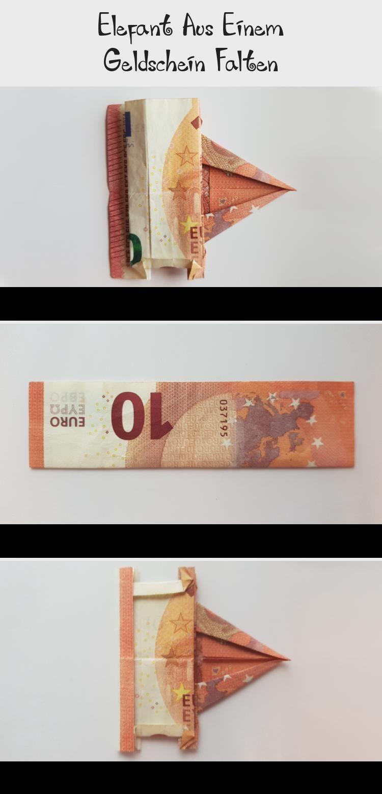 Geldgeschenk Origami