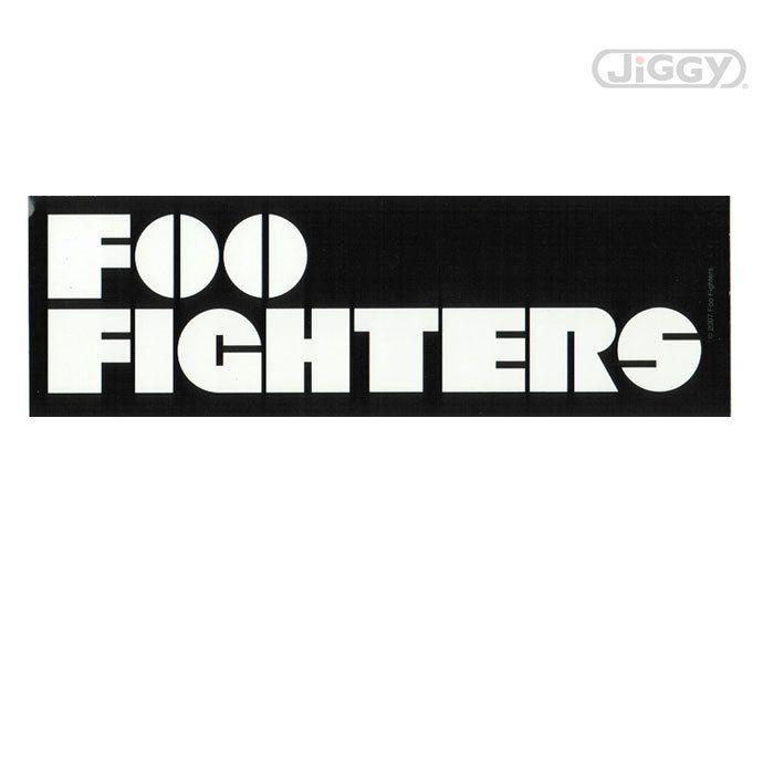 Foo Fighters Logo Sticker Foo Fighters Logo Sticker Logos