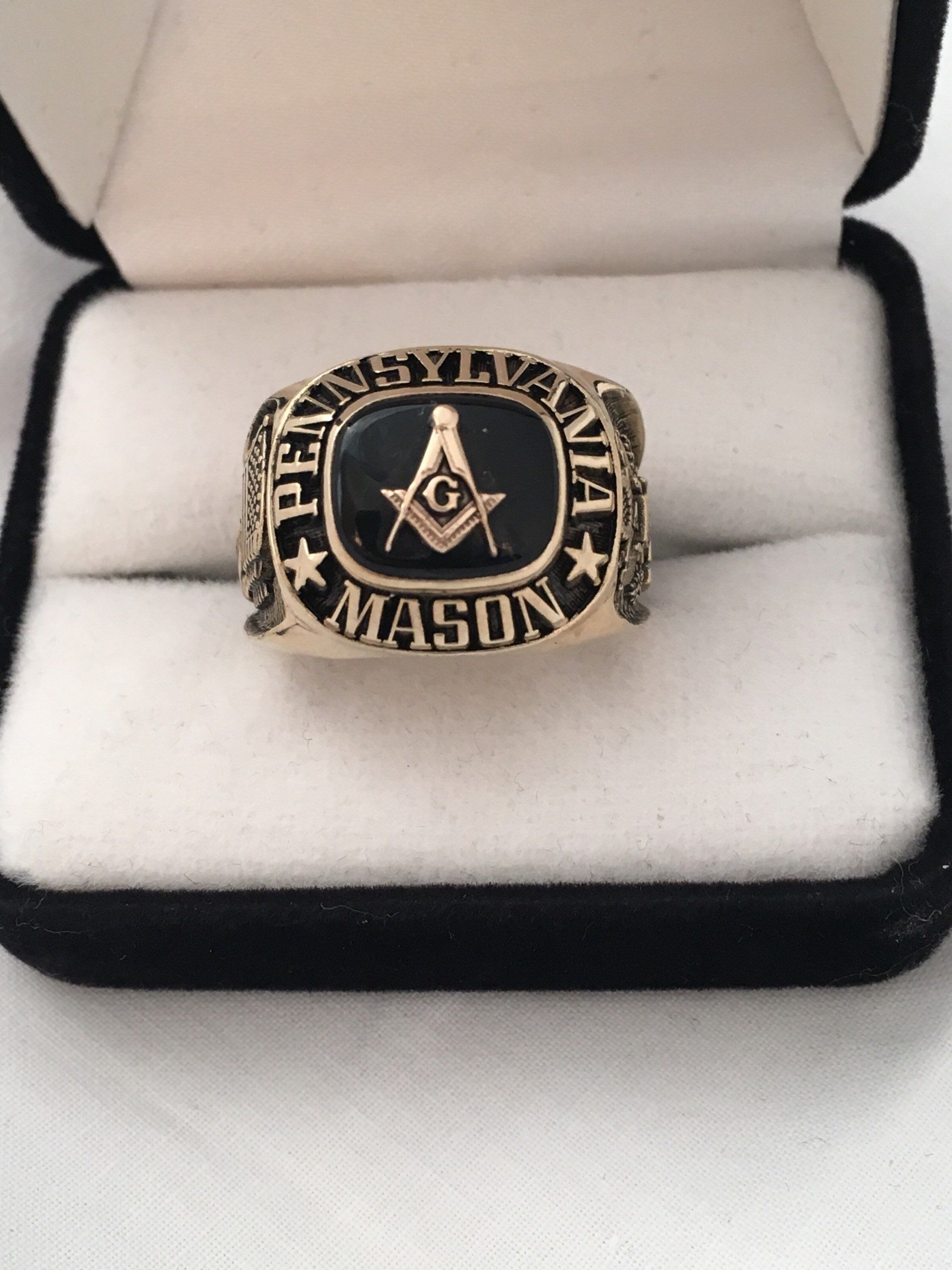 7f93c966f Excited to share the latest addition to my #etsy shop: Pennsylvania Mason  Masonic Army agold Gilt Vintage Sterling Silver Hallmark TSC 0497 Ster Size  12.25