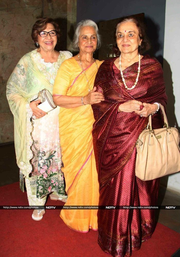Helen Waheeda Rahman And Asha Parekh