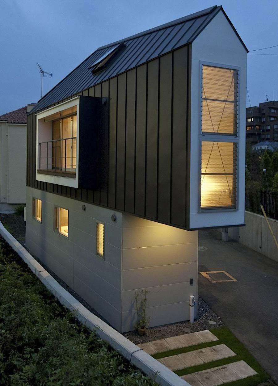 das schmale horinouchi haus design. Black Bedroom Furniture Sets. Home Design Ideas