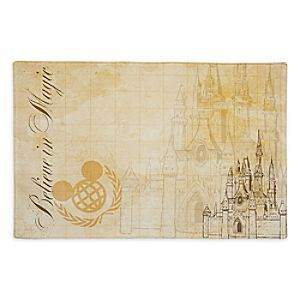 Walt Disney World Vintage Collection Placemat | Disney Store If you ...