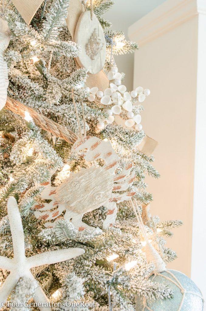 how to create a coastal christmas tree - Coastal Christmas Tree
