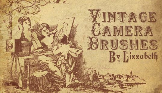 vintage camera (and other) brushes