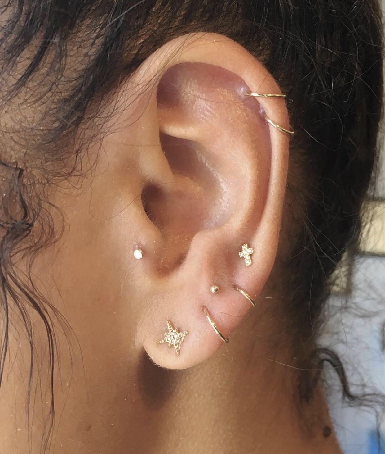 Nose piercing close up  vespernyc  beauty u bling  Pinterest  Piercings Piercing and
