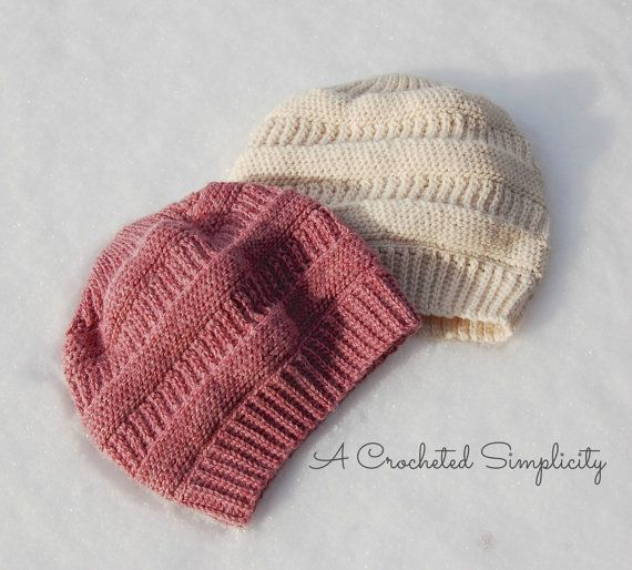 Crochet Pattern: Purl Illusions Slouch by ACrochetedSimplicity