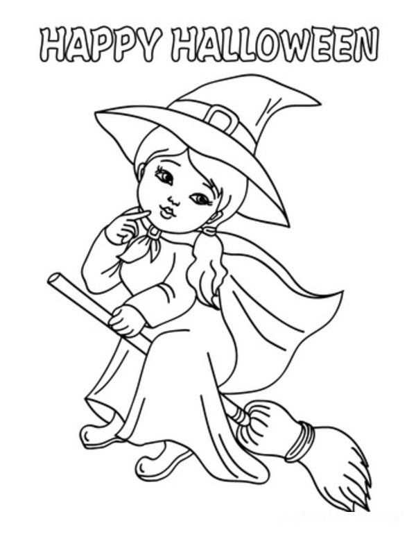 halloween coloring pages preschool - photo#38