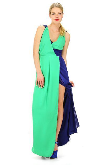 Abiti Da Cerimonia Hanita.Abito Verde Blu Hanita Abiti Abbigliamento E Abito Verde