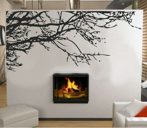 Tree Wall Decals: Stunning Tree Branch Removable Wall Art Sticker Vinyl Decal Mural Home Decor by Other. ............ Get Wall Decals at Amazon from Wall Decals Quotes Store