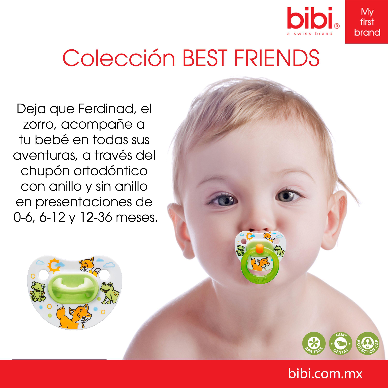 Los chupones bibi son productos de la más alta calidad, desarrollados con materiales inofensivos y con las más avanzada tecnología para que tu bebé crezca sano y con toda la confianza que él se merece.