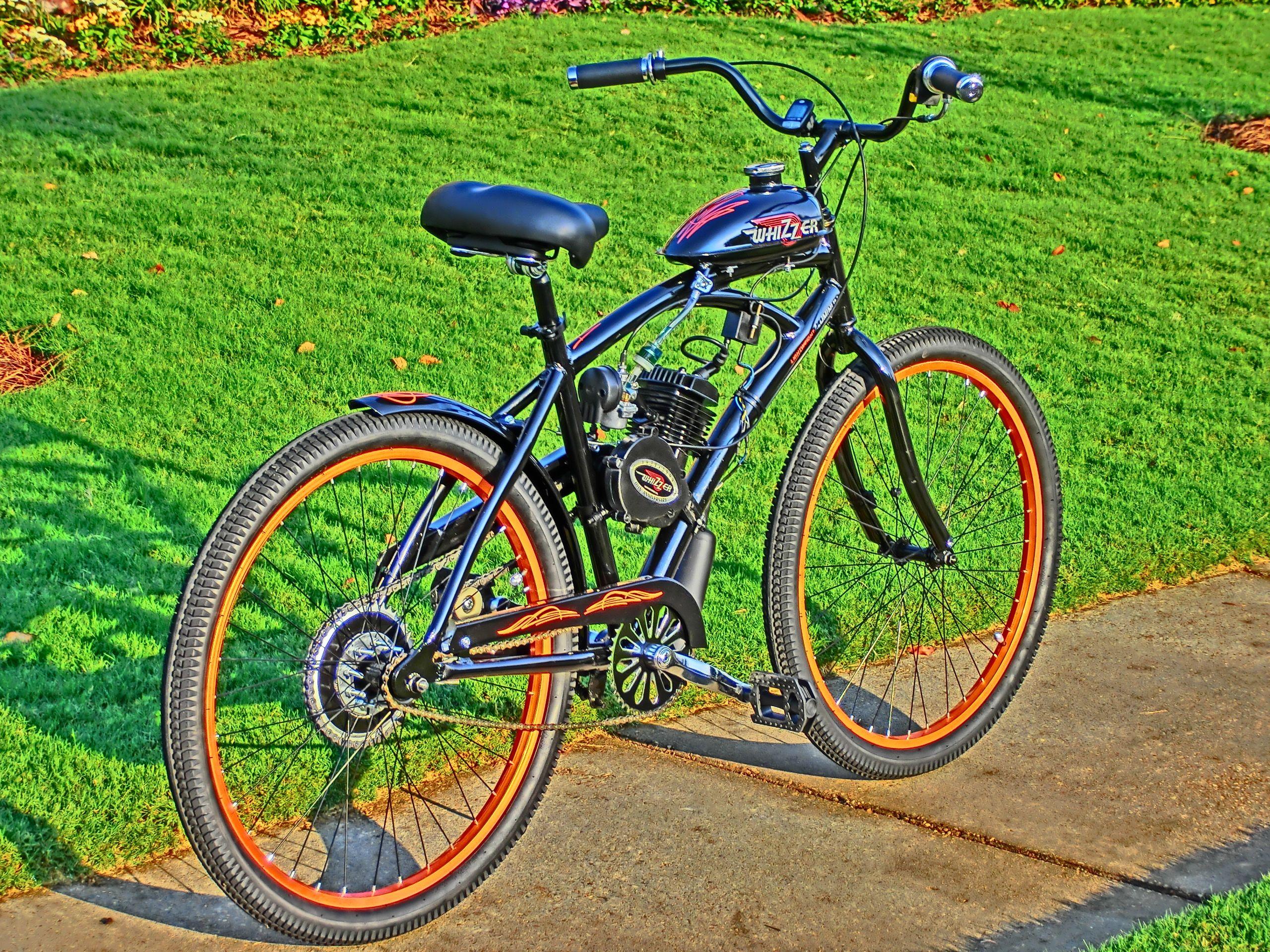 80cc Motorized Bike One Day Build From Boy Go Fast Engine