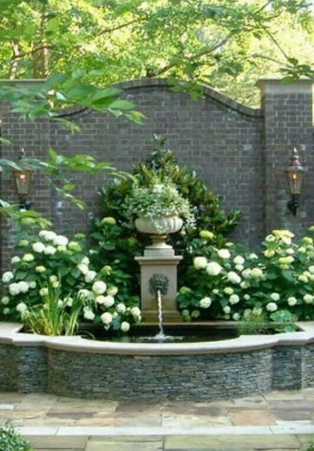 30+ Unordinary Water Feature Front Yard Backyard Landscaping Ideas - TRENDEDECOR #waterfeatures