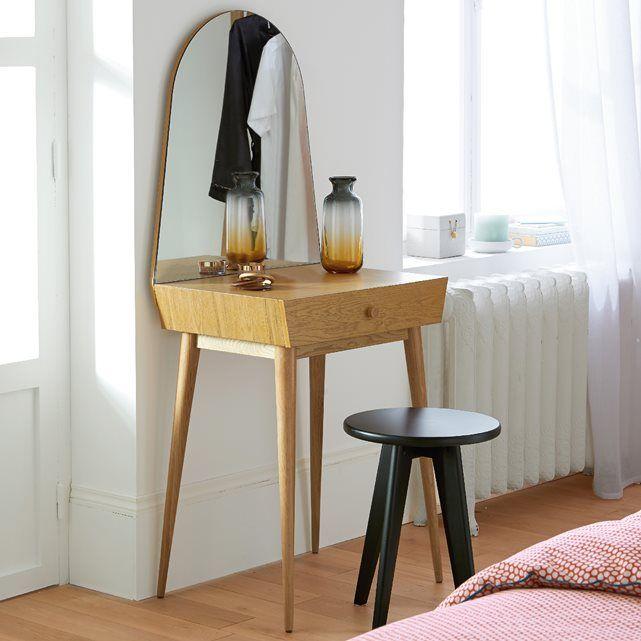 Coiffeuse clairoy meubles pinterest coiffeuse scandinave mobilier de salon et coiffeuse - Miroir dans la chambre ...