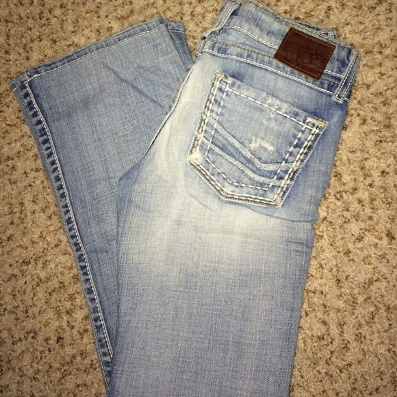 buckle jeans ! BKE Madison jeans , never worn just hemmed about 2 inches and the hem can be undone. perfect condition ! BKE Jeans Flare & Wide Leg