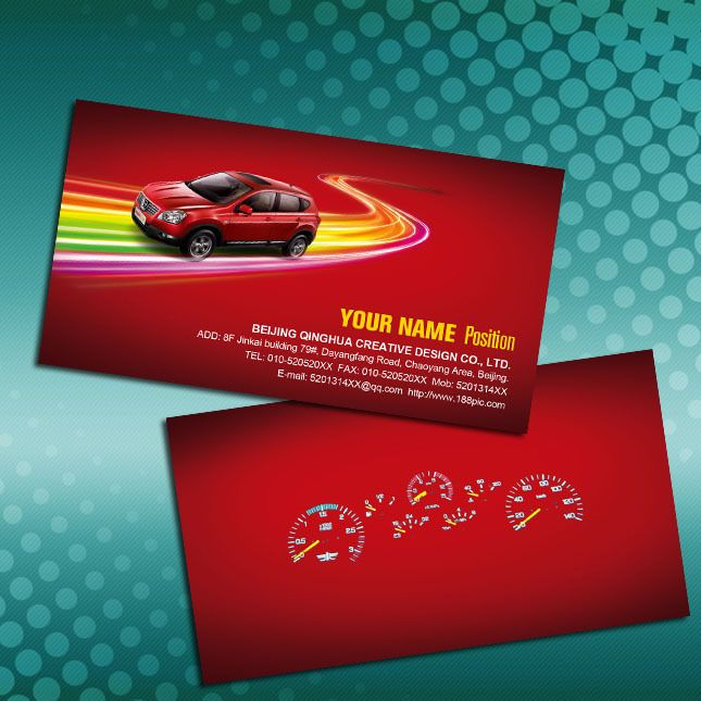 Red card car club card car beauty card, #card#    weiliooopic - club card design