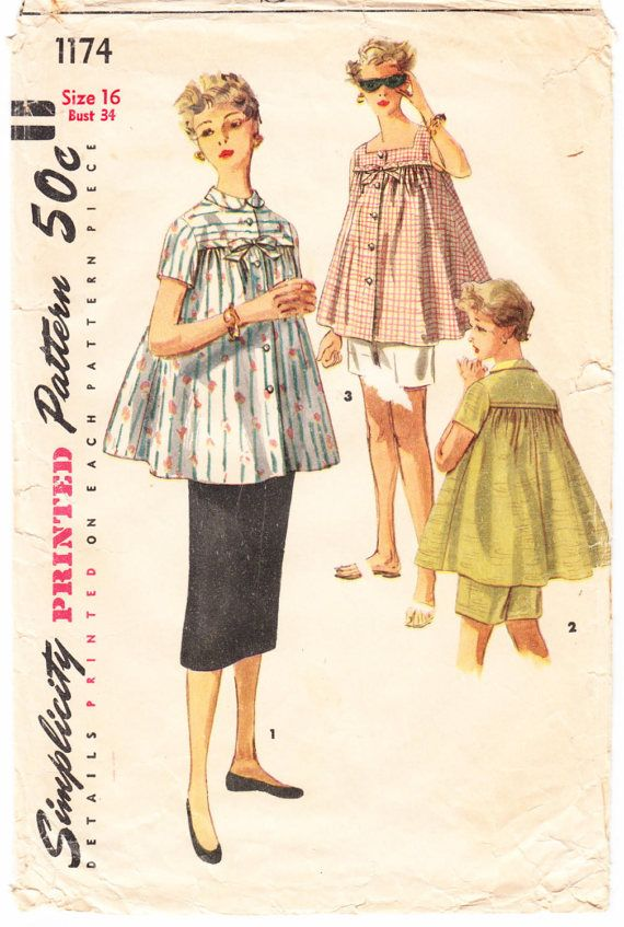 ed954d265b0 Vintage 1955 Simplicity 1174 Sewing Pattern Juniors  and Misses ...