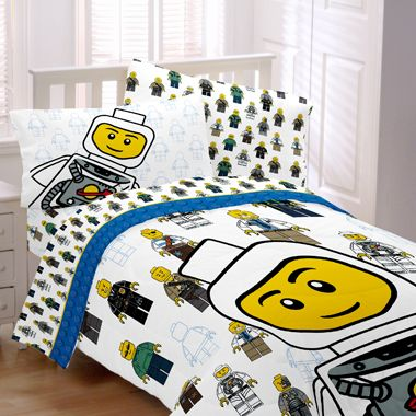 New Awesome Boys Twin Size Lego Bedding Minifig Comforter Set Sheets Must See On Ebay 100 13 95 S
