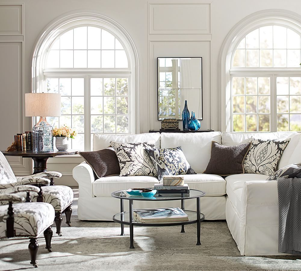Round Shape Coffee Tables Works Especially Well With An L Shaped Sectional And Also Are Great Fits For Smaller Es