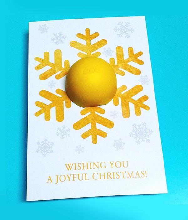 snowflake balm holder diy christmas gift stocking fillers