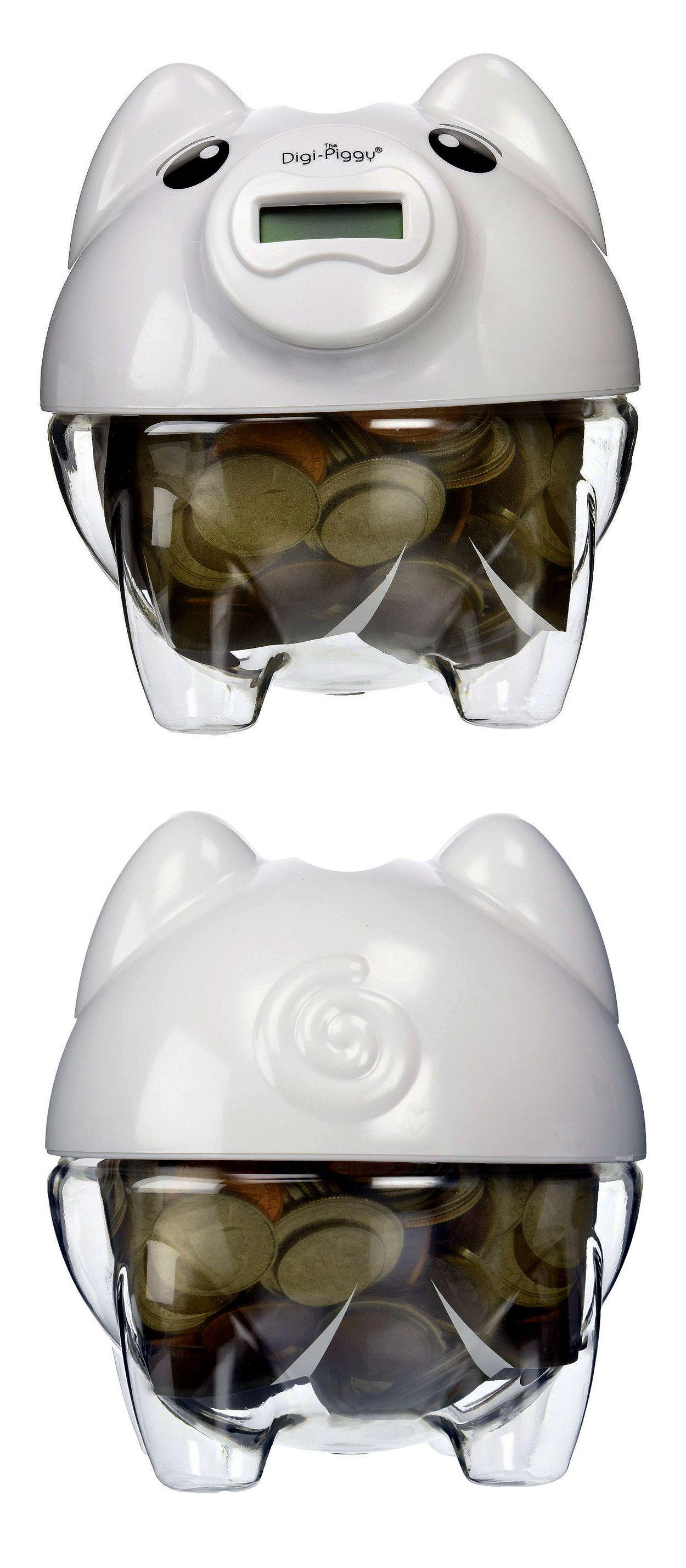 The Digi Piggy Digital Coin Counting Bank