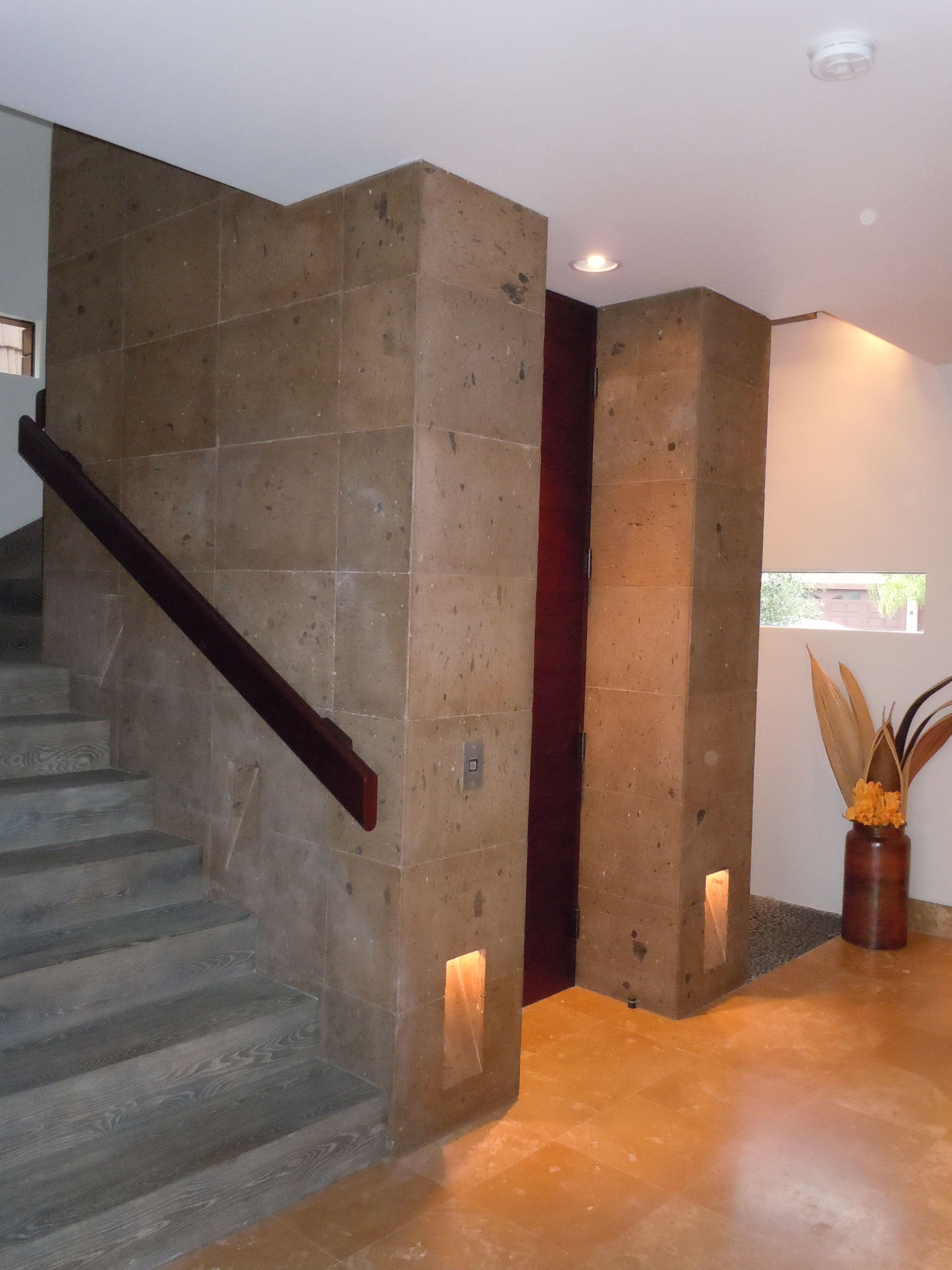 Cantera stone wall for the home pinterest stone for Piedra para muros interiores