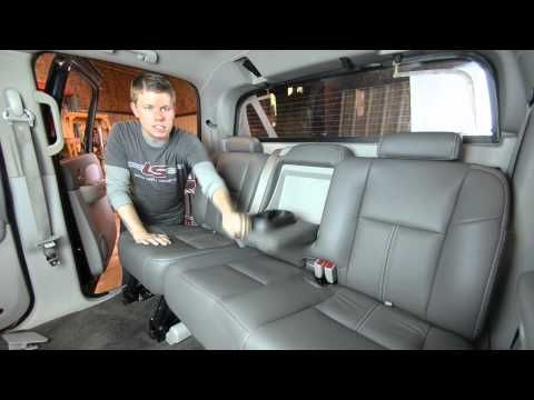 Chevy Avalanche Leather Interior Upgrade Upholstery Conversion