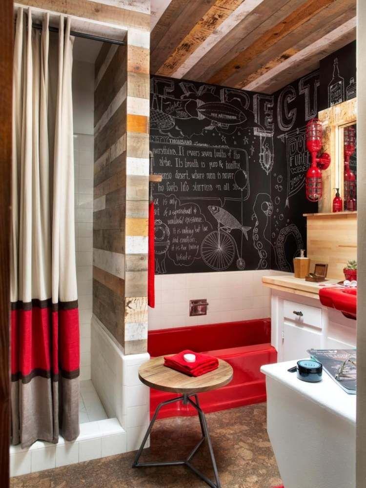 Idées de revêtement mural bois et panneaux décoratifs | Idee ...