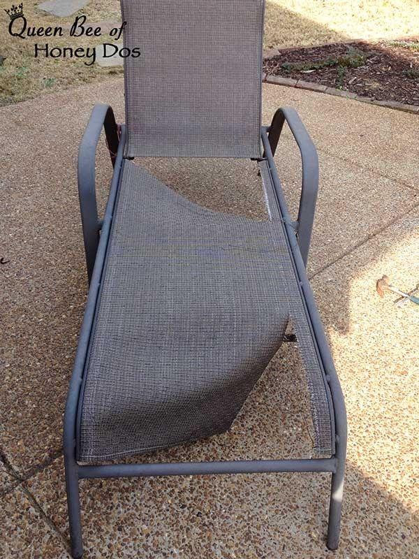 27 diy patio chair mesh redo ideas