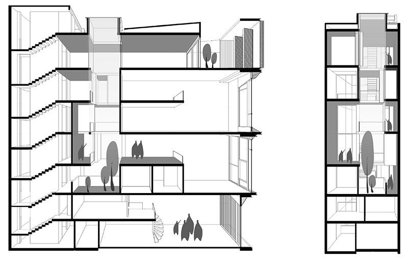 Run down house drawing pictures