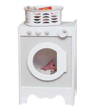 Little Colorado Kids Play Washer Dryer White With Soft Pink Pastel Green Laundry Gets Done Perfectly Every Time In The