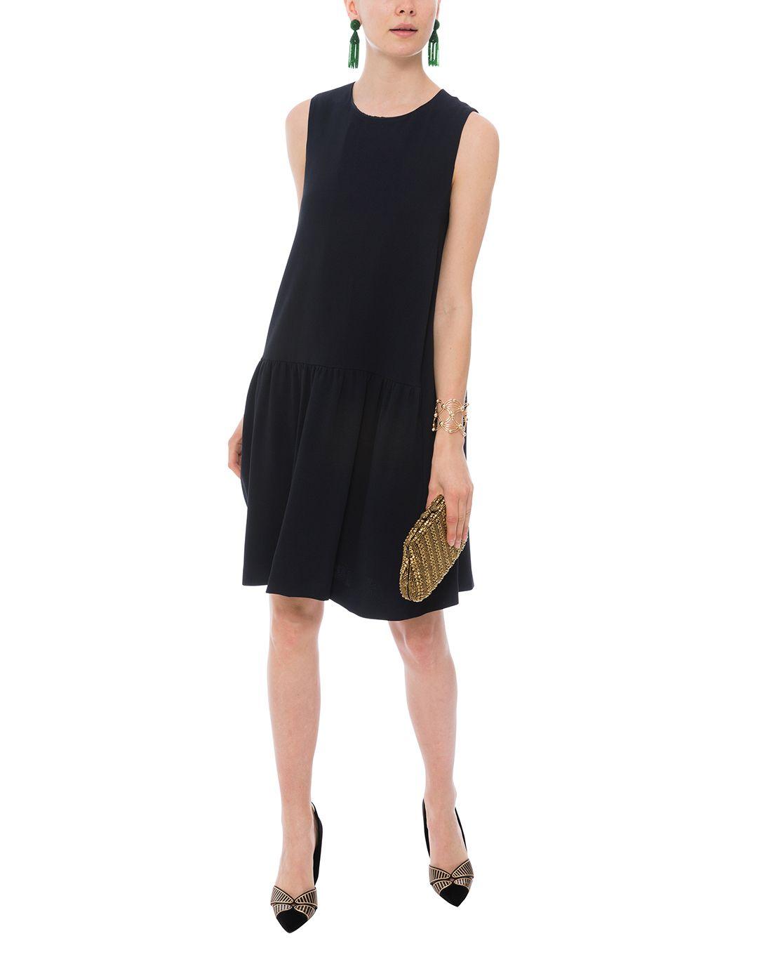 Penny Midnight Blue Gathered Hem Dress S Maxmara Halsbrook Hem Dress Clothes Little Black Dress [ 1380 x 1086 Pixel ]