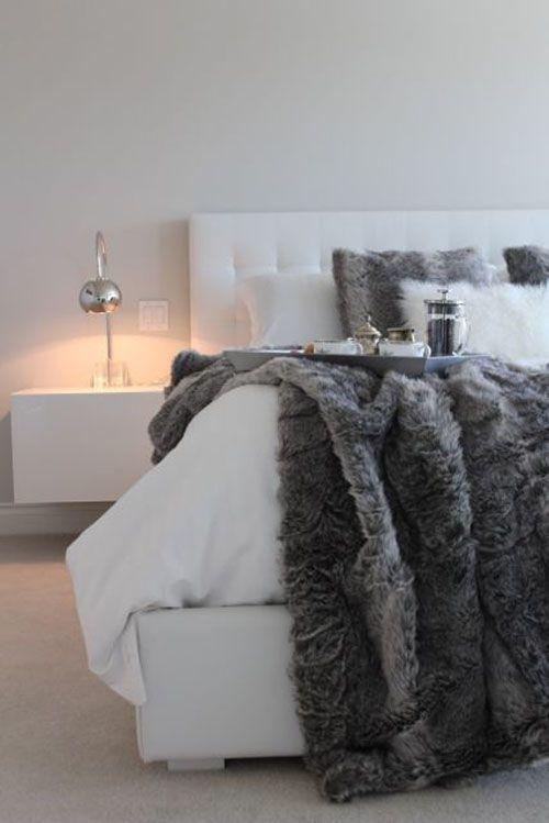 440a40f40a5340ff440197bd8594044993e40e For The Home Pinterest Beauteous Fuzzy Gray Throw Blanket
