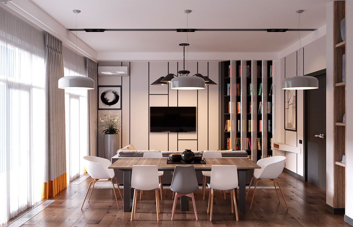 Penthouse Apartment Cozy Contemporary Design on Behance