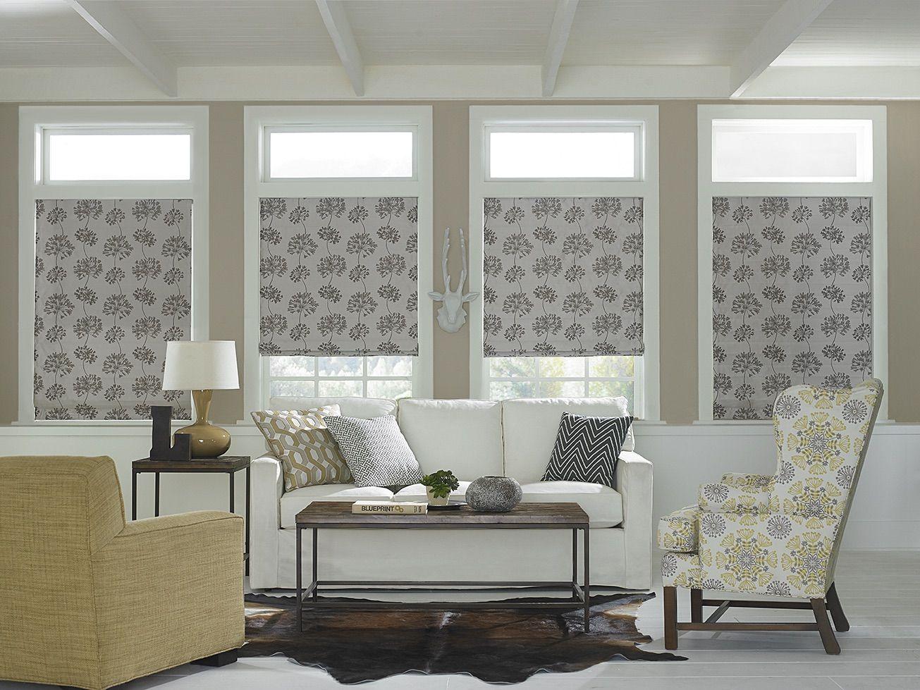 Kitchen window no trim  essence is a custom fabric shade program designed to offer a